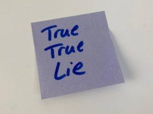 Icebreaker Wahrheiten Lüge