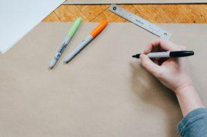 Papier Stifte
